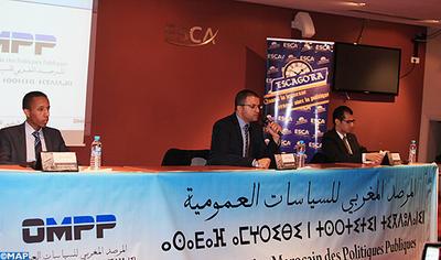 L'OMPP présente à Casablanca son 1er rapport semestriel des politiques sectorielles