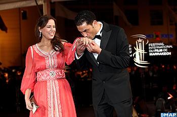 FIFM Lacteur Youssef El Joundi et la journaliste Houria Boutayyeb
