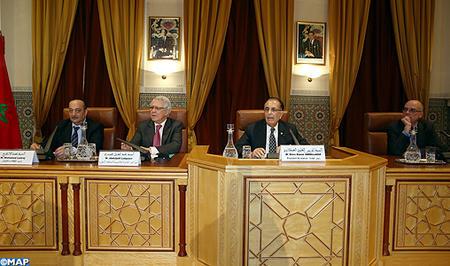 Conférence à l'Académie du Royaume du Maroc sous le thème Sijilmâsa, porte de l'Afrique, patrimoine en partage, site en péril