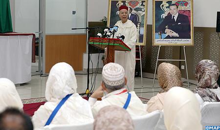 SM le Roi, Amir Al Mouminine, adresse un message aux pèlerins à l'occasion du départ du premier contingent vers les Lieux Saints