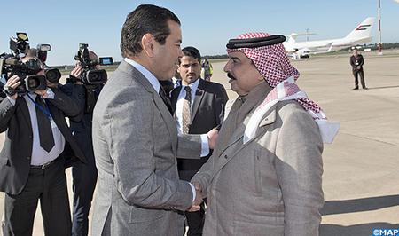 Arrivée à Rabat du Roi de Bahreïn pour une visite privée dans le Royaume