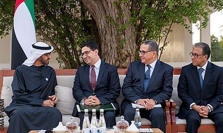 Message écrit de SM le Roi au cheikh Mohamed Ben Zayed Al-Nahyan