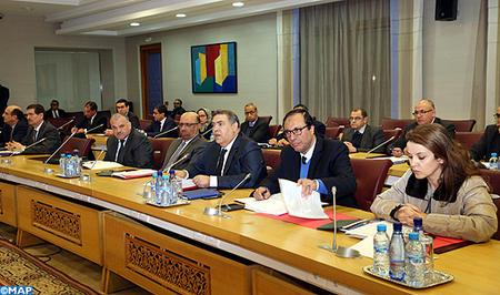 En application des Hautes instructions royales, réunion à Rabat sur les moyens à même de faire face à la vague de froid qui sévit dans plusieurs régions