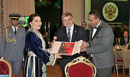 SAR la Princesse Lalla Hasnaa préside à Rabat le dîner de Gala diplomatique de bienfaisance
