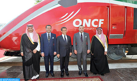SM le Roi Mohammed VI baptise le Train à Grande Vitesse marocain du nom d'AL BORAQ
