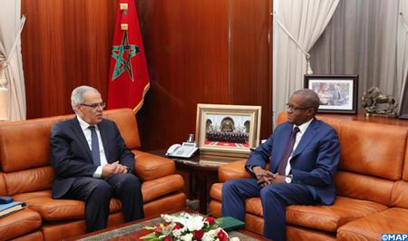 M. Loudyi reçoit le secrétaire permanent du G5 Sahel, Maman Sambo Sidikou