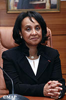 Mme Mounia Boucetta, nouvelle secrétaire d'Etat auprès du ministre des Affaires étrangères et de la Coopération internationale