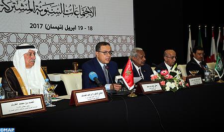 SM le Roi adresse un message aux participants aux réunions annuelles conjointes des Instances financières arabes de 2017