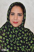 Mme Rkia Derham, secrétaire d'Etat auprès du ministre de l'Industrie, de l'Investissement, du Commerce et de l'Economie numérique, chargée du Commerce extérieur