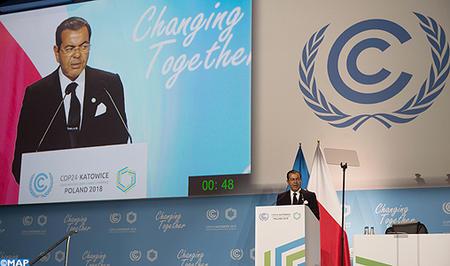 SM le Roi Mohammed VI adresse un message à la COP24 réunie en Pologne (Texte intégral)