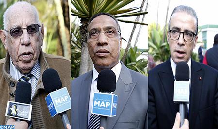 Les derniers développements de la question de l'intégrité territoriale requièrent la mobilisation de toutes les forces et du peuple marocain (Dirigeants de partis politiques et syndicats)
