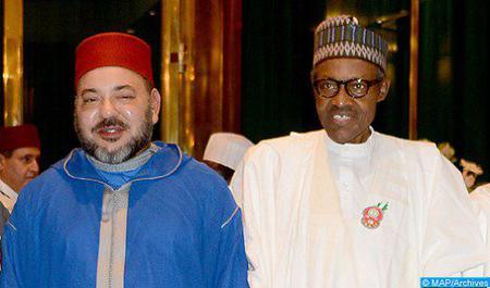 Communiqué conjoint de la visite officielle de travail et d'amitié au Maroc du président nigérian