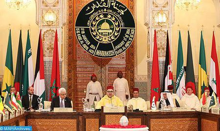 Message de SM le Roi au Président palestinien suite à la mise en oeuvre par l'Administration américaine de sa décision de reconnaître Al-Qods comme capitale d'Israël et d'y transférer son ambassade