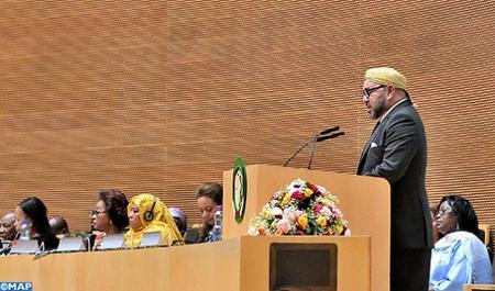 SM le Roi: Le Maroc rentre dans l'UA par la grande porte