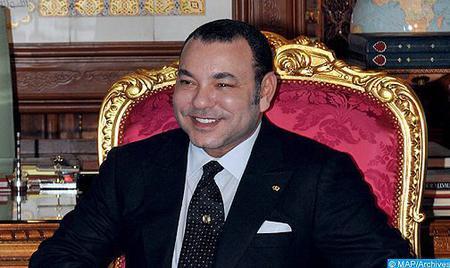 SM le Roi félicite M. Mohand Laenser suite à sa réélection secrétaire général du MP
