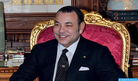 SM le Roi félicite M. George Weah à l'occasion de son élection président de la République du Liberia