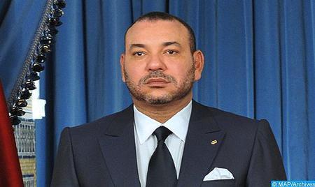 SM le Roi adresse un message de condoléances et de compassion à la famille de l'artiste feu Ali Bachar