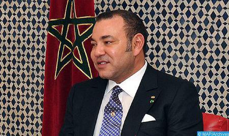 SM le Roi félicite le président du gouvernement espagnol à l'occasion de la fête nationale de son pays