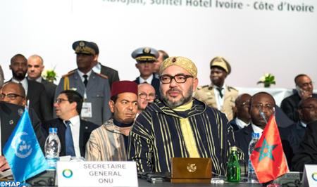 Message de SM le Roi au 5ème Sommet Union Africaine - Union Européenne à Abidjan