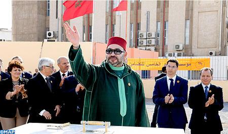 Fondation Mohammed V pour la Solidarité: SM le Roi lance à Salé les travaux de construction d'un complexe d'animation artistique et culturelle