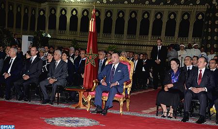 SM le Roi lance le programme de développement économique et urbain de la ville de Tétouan (2014-2018)