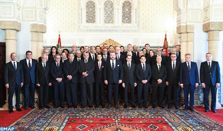 SM le Roi nomme les membres du nouveau gouvernement
