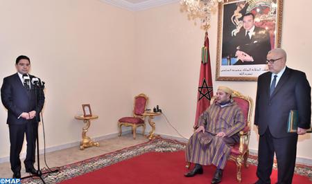 Sm le roi nomme nasser bourita ministre d l gu aupr s du - Cabinet du ministre des affaires etrangeres ...