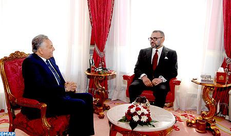 SM le Roi reçoit le secrétaire général du PPS suite à sa réélection à la tête du parti