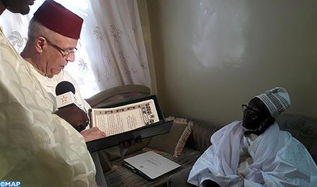 Sénégal : M. Toufiq remet un message de condoléances de SM le Roi au nouveau khalife de la confrérie mouride