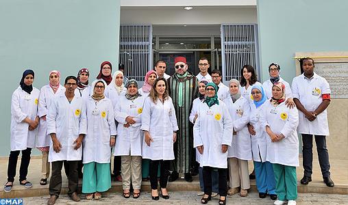 Fondation Mohammed V pour la Solidarité : SM le Roi inaugure un centre de soins de santé primaires à l'arrondissement Sidi Othmane à Casablanca