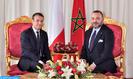 Arrivée au Maroc du Président français Emmanuel Macron