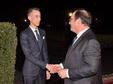 SM le Roi offre un diner en l'honneur de l'ancien président français François Hollande présidé par SAR le Prince Héritier Moulay El Hassan