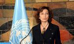 Plaidoyer de la directrice générale de l'UNESCO à Paris pour une éducation de qualité pour tous en Afrique