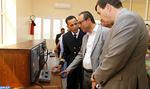 Province de Boujdour: M. Amara visite le chantier de réalisation d'un tronçon de la route Laâyoune-Dakhla
