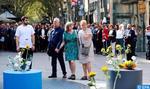 Commémoration à Barcelone des attentats des 17 et 18 août 2017