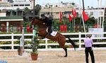Coup d'envoi du concours officiel de saut d'obstacles de la Garde Royale à Rabat