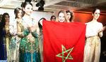 Show inédit à Genève de caftans marocains et de robes orientales