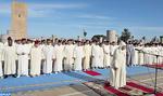Prières rogatoires accomplies à la Mosquée Hassan de Rabat en présence de SAR le Prince Héritier Moulay El Hassan