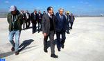 M. Sajid s'informe de l'état d'avancement des travaux d'extension du Terminal 1 de l'aéroport Mohammed V