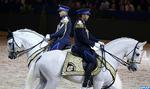 Salon du Cheval d'El Jadida: la troupe des cavaliers de la DGSN fascine le public