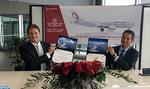 Cérémonie de livraison à Seattle du 5ème Dreamliner de la RAM par Boeing