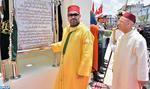 SM le Roi, Amir Al-Mouminine, inaugure à Ben M'Sik la mosquée «la Palestine» et y accomplit la prière du vendredi