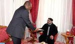 SM le Roi reçoit un envoyé spécial du président nigérian, porteur d'un message écrit au Souverain