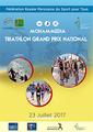 La première étape du Grand Prix National de triathlon, le 23 juillet à Mohammedia