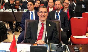 SM le Roi adresse un discours au Sommet extraordinaire de l'UA sur la Zone de libre-échange continentale