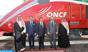 """SM le Roi Mohammed VI baptise le Train à Grande Vitesse marocain du nom d'""""AL BORAQ"""""""