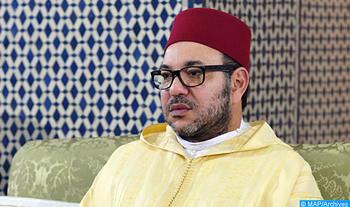 SM le Roi, Amir Al-Mouminine, préside, lundi à la mosquée Hassan à Rabat, une veillée religieuse en commémoration de l'Aid Al-Mawlid Annabaoui Acharif