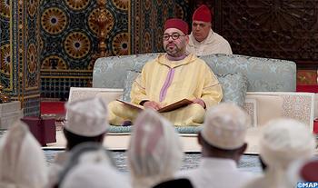 SM le Roi, Amir Al Mouminine, préside à Casablanca la troisième causerie religieuse du mois sacré de Ramadan