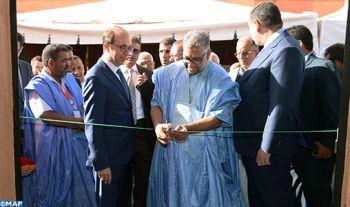 Inauguration de la 1ère phase du projet d'aménagement de l'hôpital provincial d'Assa-Zag