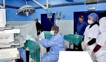 Le centre hospitalier régional de Béni Mellal lance un programme inédit et efficient réduisant les délais d'attente en chirurgie
